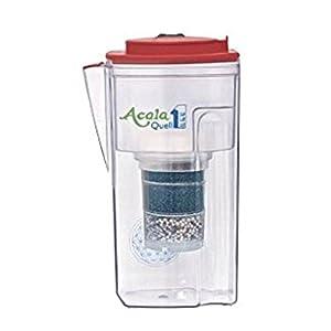 Filtre à eau AcalaQuell One carafe filtrante   Framboise   Très haute performance de filtration   Cartouche filtrante…