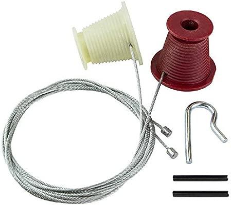 NEW HENDERSON PREMIERE Premier ROLLERS Wires Cables REPAIR KIT Garage Door Spare