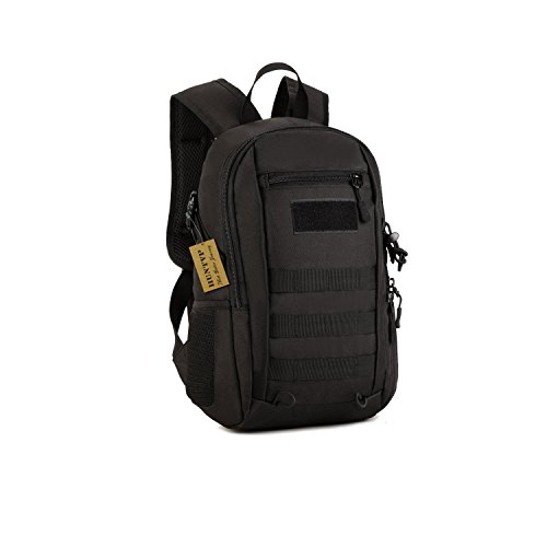 a55708822ed4b ... Huntvp 12L Mini Daypack Military MOLLE Backpack Rucksack Gear Tactical  Assault Pack Student School Bag for