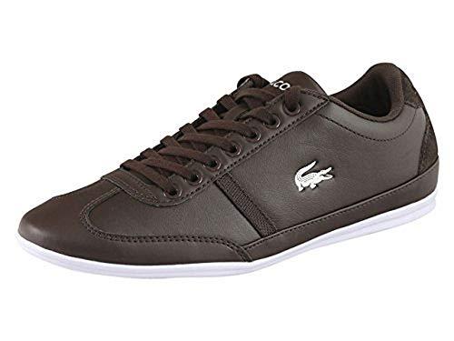 Lacoste Misano Sport 118 Men's Lace Sneaker (11, Dark (Lacoste Mens Lace)