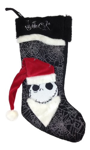 amazoncom disney park nightmare before christmas halloween stocking jack skellington home kitchen