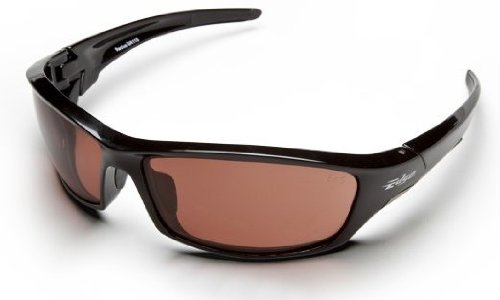 Edge Eyewear SR115 Reclus Safety Glasses Black Frames Copper - Glasses Style Face What For My