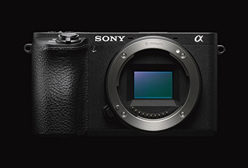 Sony Alpha ILCE6500B - Cámara (24.2 MP, 11fps, 5 ejes, AF de 0.05 s, con montura E, 425 puntos de...