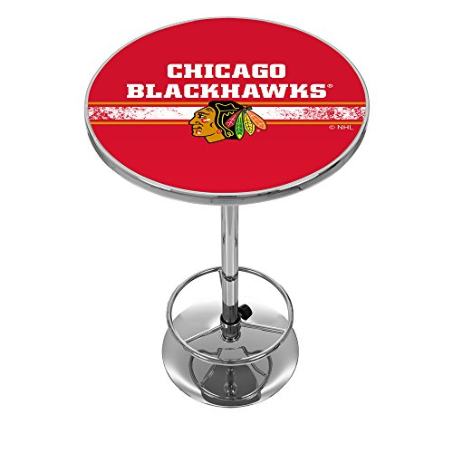 Trademark Gameroom NHL Chicago Blackhawks Chrome Pub ()