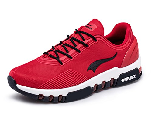 US Jogging 7 ONEMIX Sneaker Trainer Unisex Fitness Switch Red Black D Free M awvHtF