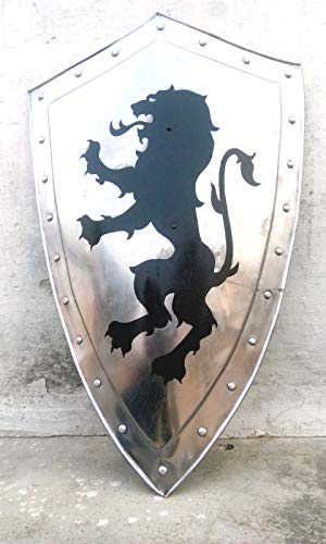 Price comparison product image Collectibles Battle Medieval Dragon Armories Steel Shield Reproduction & Replica