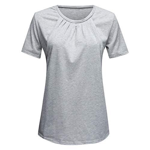 881ddf8b5e9 Sweatshirt Hoodie for Women Plus Size,Women Maternity Pregnancy Folding  Nursing Baby Breastfeeding T-