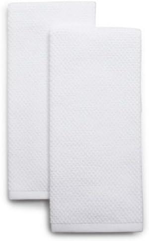Sur La Table Organic Cotton Kitchen Towels K-18833, White