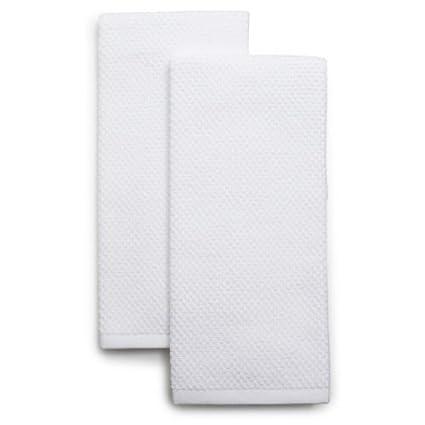 Sur La Table Organic Cotton Kitchen Towels K 18833 White