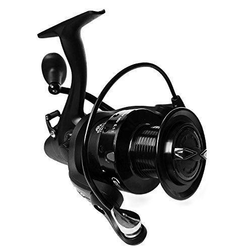 Fishing Reel with Left Right Interchangeable Collapsible Handle 12+1 Ball Bearings , 27LBs/12Kg Carbon Fiber Drag,Light Weight Ultra Smooth Powerful ,Dual Brakes for Freshwater Saltwater Fishing