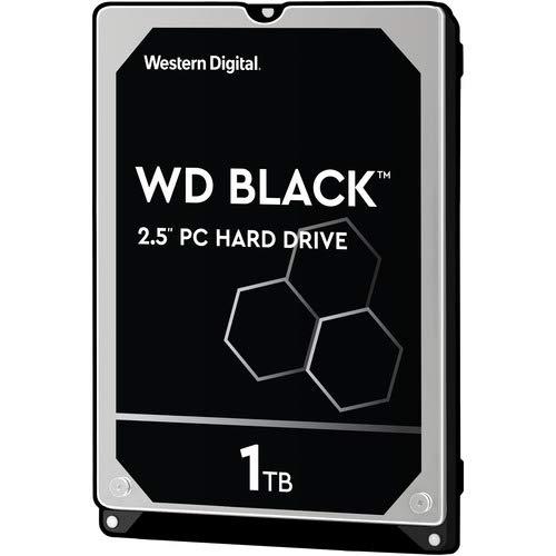 TDSOURCING WESTERN DIGITAL WD Black 2.5-inch 1TB Performance Hard Drive - 7200rpm - 32 MB -