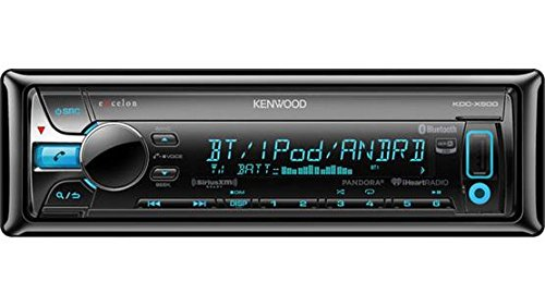 Kenwood KDC X500 Single Bluetooth Stereo product image