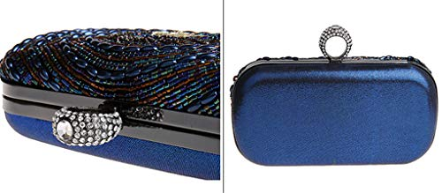 Women's Strap Evening Detachable Party Rhinestones With A Purse Bag Chain Clutch Crystal Handbag Handmade Embroidery qqfp1