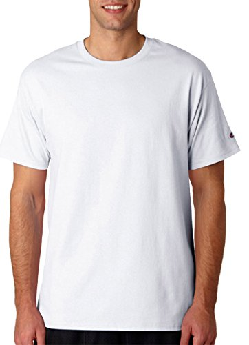 Champion T525C 6.1 oz. Tagless T-Shirt L White