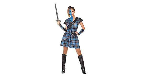 DISBACANAL Disfraz de Escocesa Braveheart - -, M-L: Amazon.es ...