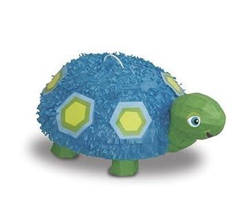 Juego de Piñata Tortuga Azul para Primer Cumpleaños: Amazon ...