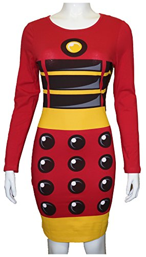 Doctor-Who-The-Daleks-Exterminate-Womens-Long-Sleeve-Costume-Dress