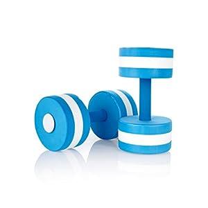 Amazon.com : Speedo Aqua Dumbells Pool Weights : Swimming ...