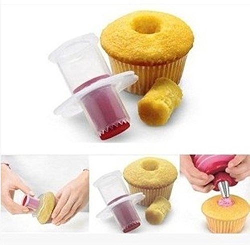 Cupcake Corer Muffin Cake Hole Digger DIY Cup Cake Cored Device Muffin Cup Cake Decoration Tool Pastry Decoration Tool