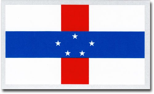 Netherlands Antilles - Country Auto Decal