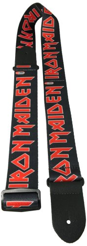 Perris Leathers LPCP-1380 2-Inch Polyester with Iron Maiden Design