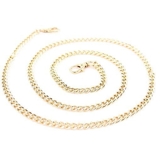 modamoda de , Präzise Farbe (nur Farbe):Schulterkette Gold 118cm