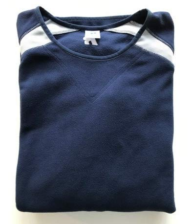 Russell Athletic Baseball Fleece Pullover Sweater - Navy - Large