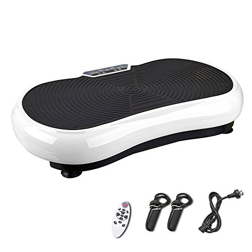Pinty Full Body Exercise Vibration Platform Crazy Fit Fitness Machine (White) -