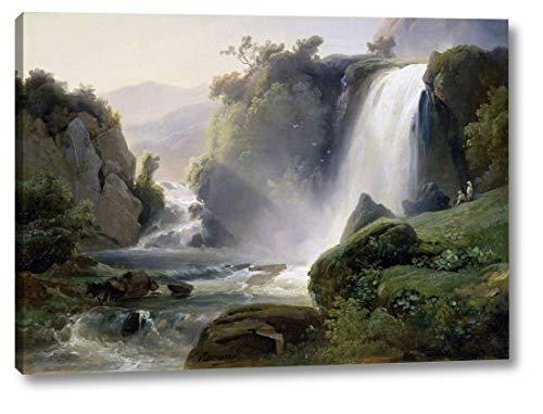 Tivoli Waterfall by Jean Charles Joseph Redmond - 28