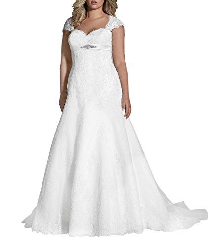 fat bride dresses - 4