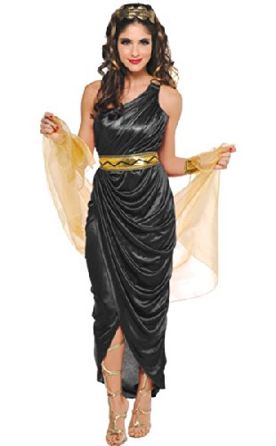 amscan Adult Queen of The Nile Costume - Large (10-12), Multicolor ()