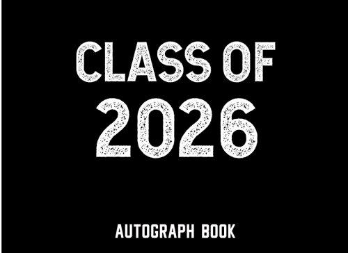 Class of 2026: Autograph Book