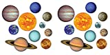 Solar System Cutouts (Prtd 2 Sides) 2pack