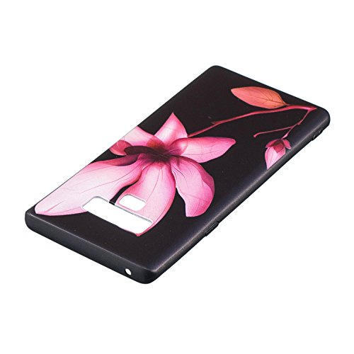 Note Galaxy Coque Galaxy Ultra Fille Galaxy Gel Housse Coque Silicone Samsung Note Etui en Note 9 Samsung avec Coque 9 Homme Femme Motif Herbests 9 Slim Silicone Lotus Protection de Souple pour Samsung TPU 6Frxw506qc