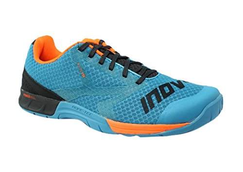Inov-8 Men's F-Lite 250 Performance Training Shoe, Blue/Grey/Orange, 8 D US