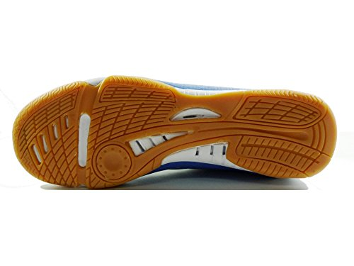 Professional AGLA NEW FIVE INDOOR zapatos fútbol con anti-shock Azul