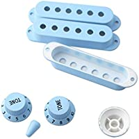 Healifty Guitar Pickup Cover Knobs Switch Tip Set