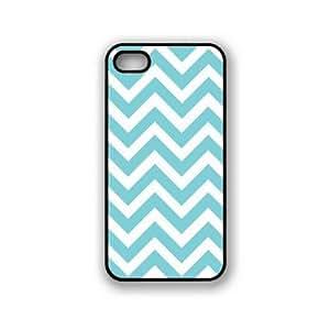 Houseofcases Chevron Aqua iPhone 5 & 5S Case - Fits iPhone 5 & 5S