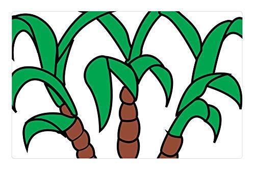 Tree26 Indoor Floor Rug/Mat (23.6 x 15.7 Inch) - Cane Crop Food Plant Sugar (Sugar Cane Crop)