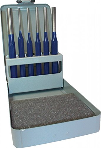 PROMAT 812364 Splintentreibersatz CV. 6tlg. 3-6/8/10mm PROMAT Metallkassette Kayser
