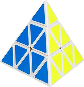 Zaid Collections Pyraminx Speed Magic Cube (Multicolour)