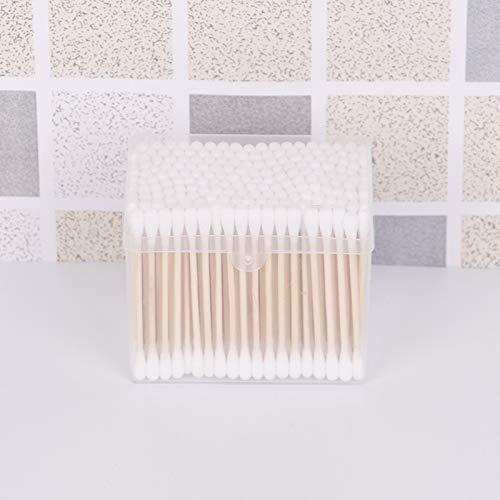QTIP 면봉 150 박스형 양면 면봉 일회용 면봉 깨끗한 면봉(사각형)