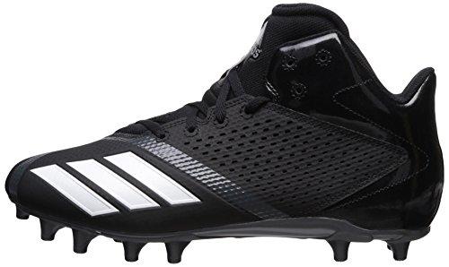 Pictures of adidas Men's Freak X Carbon Mid DA9635 Black/White/Ngtmet 5