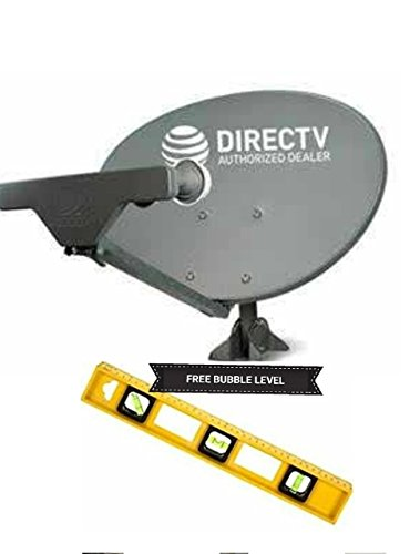DIRECTV SWM 5 LNB SLIMLINE KA/KU SL5 , SHORT MAST STUBY FULL HD LNBF W/ POWER 21 V SUPPLY 4 WAY SPLITTER BUBBLE LEVEL & SIGNAL FINDER sat 101'110'119'103'99 FREE TECH SUPPORT