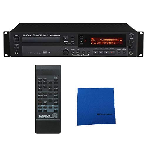 Tascam CD-RW900mkII CD Recorder Player with Microfiber ()