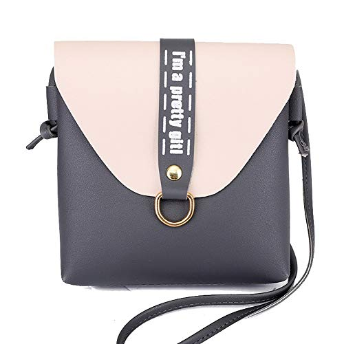Pu Shopping Women's Crossbody Casual AgooLar Bags Gray Red GMDBA215186 Bags HvCEwEq