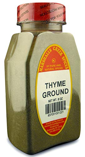 - Marshalls Creek Spices Thyme Ground Seasoning, 8 Ounce