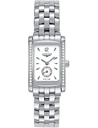 Longines Dolce Vita Quartz White Dial Stainless Steel Ladies Watch L5.155.0.16.6