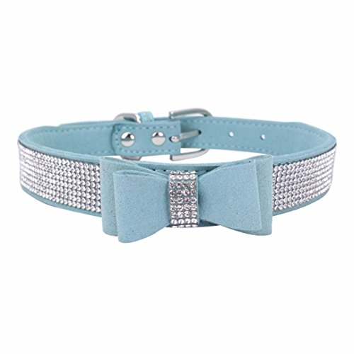 Wakeu Diamond Bowtie Crystal Rhinestone Collars for for sale  Delivered anywhere in USA