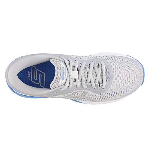 ASICS Gel-Kayano 25 Women's Shoe, Mid Grey/Blue Coast, 5 B US by ASICS (Image #5)
